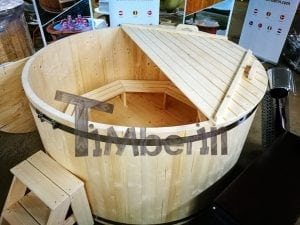 Wooden hot tub basic model by TimberIN 15