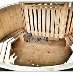 Cheap wooden hot tub