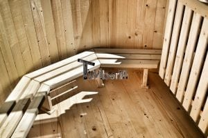 Wooden hot tub basic model made of siberian spruce larch 18