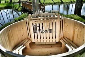 Wooden hot tub basic model made of siberian spruce larch 24