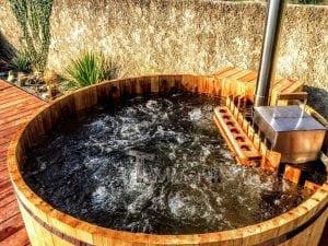 Wooden hot tub cheap basic design 1