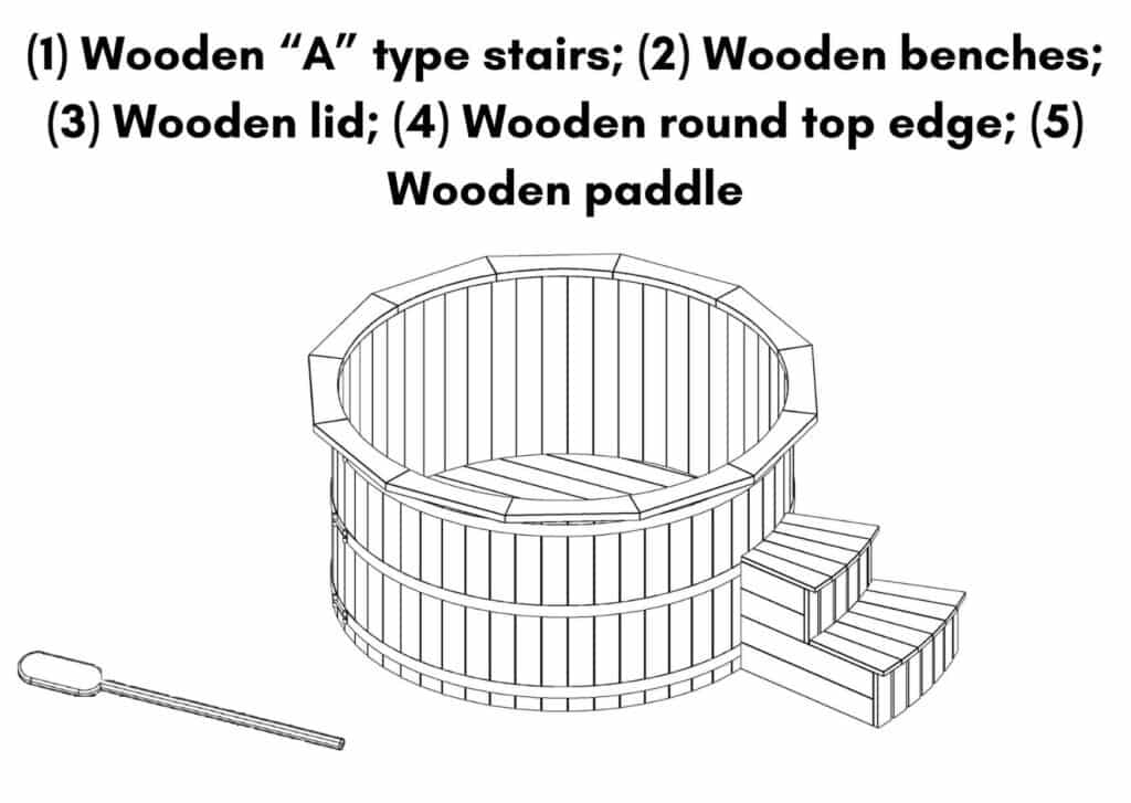 Wooden hot tub possible with jets Deluxe scaled