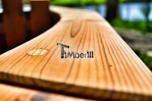 Wooden hot tub thermowood deluxe spa model 7