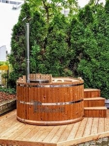 wooden hot tub thermo wood basic 2