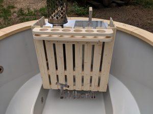 Classic hot tub with internal wood burner 3