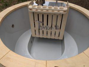 Classic hot tub with internal wood burner 4