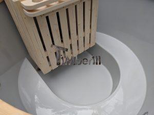 Classic hot tub with internal wood burner 5