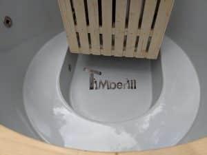 Classic hot tub with internal wood burner 6
