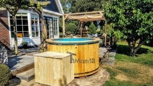 Electric outdoor hot tub spa 1