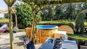Electric outdoor hot tub spa 2