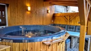 Electric outdoor hot tub spa 4 1