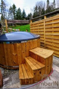 Electric wooden hot tub 2 1