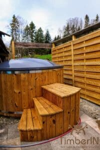 Electric wooden hot tub 3 1