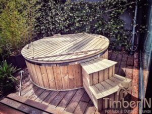 Electric wooden hot tub 3 2