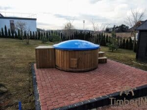 Electric wooden hot tub 4
