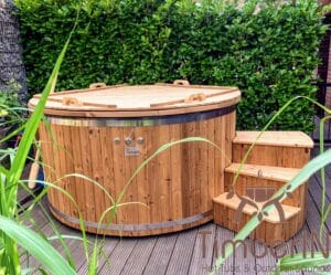 Electric wooden hot tub 5