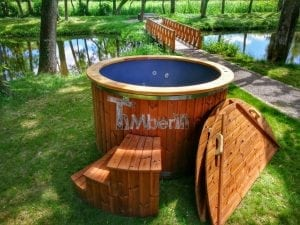 Electricity heated hot tub for garden 11