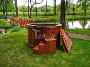 Electricity heated hot tub for garden 2