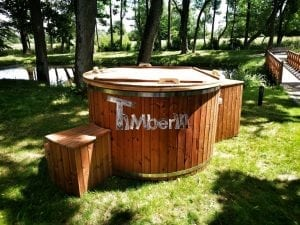 Electricity heated hot tub for garden 27