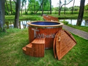 Electricity heated hot tub for garden 5