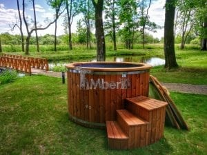 Electricity heated hot tub for garden 9