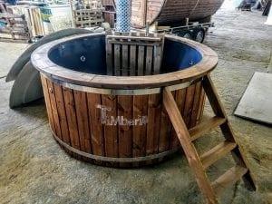 Fiberglass hot tub with snorkel heater Wellness Basic 13