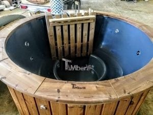 Fiberglass hot tub with snorkel heater Wellness Basic 14