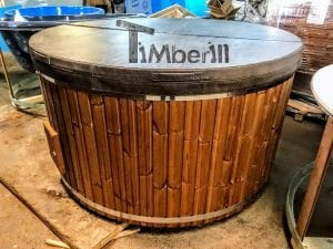Leather insulated lid for fiberglass models 5 1