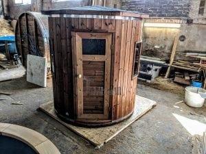 Outdoor sauna for limited garden space 11