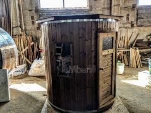 Outdoor sauna for limited garden space 14