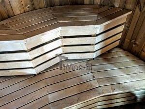 Outdoor sauna for limited garden space 19
