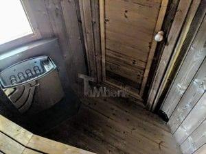 Outdoor sauna for limited garden space 23