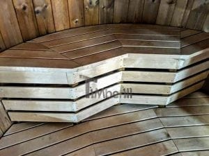 Outdoor sauna for limited garden space 25