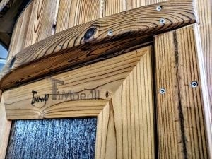 Outdoor sauna for limited garden space 27