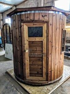 Outdoor sauna for limited garden space 5