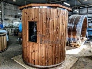 Outdoor sauna for limited garden space 7
