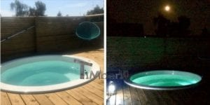 Sunken patio hot tub jacuzzi 5