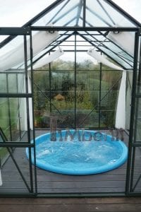 Sunken patio hot tub jacuzzi 9