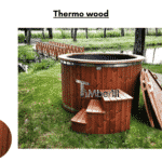 Thermo wood for Wooden hot tub with electric heater