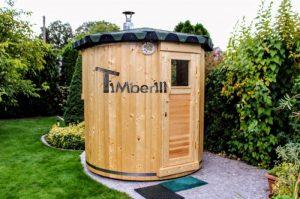 Vertical sauna customers diy 1