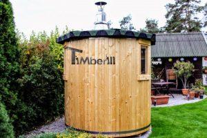 Vertical sauna customers diy 2