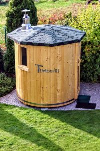 Vertical sauna customers diy 3