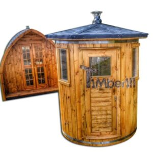 2 two person small outdoor sauna