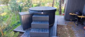 WPC hot tub with electric heater 10