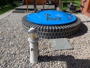 Wellness hot tub with internal burner 3