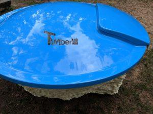 Wellness hot tub with internal burner 8