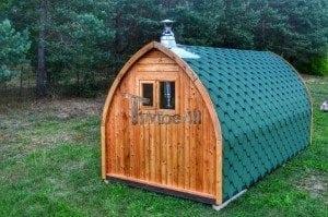 Iglu Garden Sauna TimberIN 10