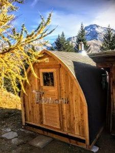 Outdoor Garden Sauna Igloo Design 1