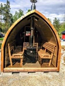 Outdoor Garden Sauna Igloo Design 1 3