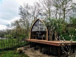 Outdoor Garden Sauna Igloo Design 1 4
